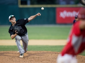 June 12, 2016: Providence's Tyler Zarembka (26) pitches during the IHSA 4A State Championship Game against Mundelein hosted at Silver Cross Field in Joliet.
